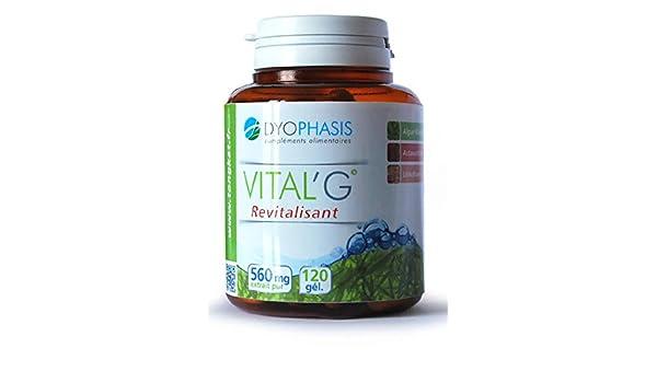 VitalG Alga Klamath | Litotamno | Astaxantina – 120 comprimidos: Amazon.es: Salud y cuidado personal