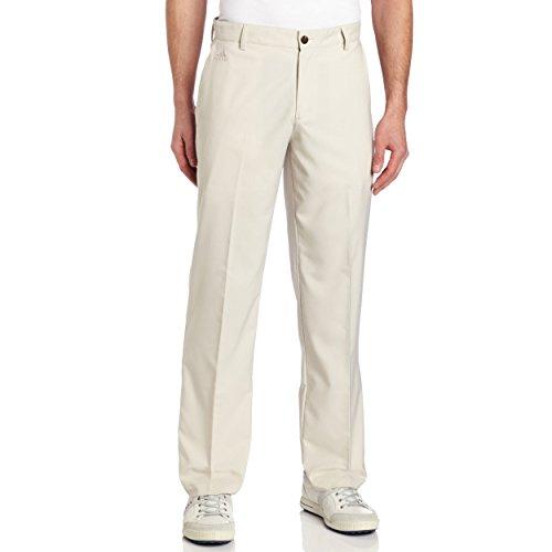 Mesh Stripe Golf (adidas Golf Men's Climalite 3-Stripes Tech Pant, Ecru, 34/32-Inch)
