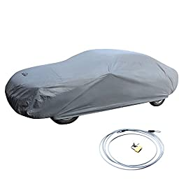XCAR Brand New Breathable Dust Prevention Car Cover-Fits Sedan Hatchback Up To 228 Inch In Length