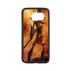 samsung galaxy s6 phone case White League of Legends Akali SJH5625814