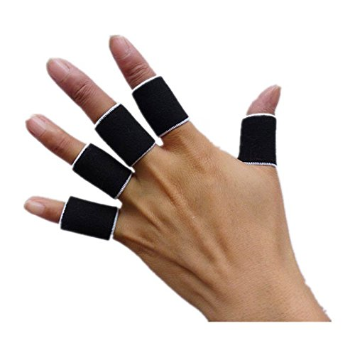 20PCs Sports Finger Guard Bandage Support Wrap Basketball Volleyball Football Fingerstall (Bandages Finger Wrap)