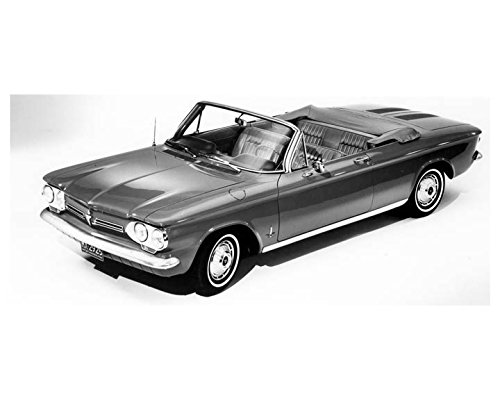 1962 Chevrolet Corvair Monza Convertible Automobile Photo Poster (Corvair 1962 Convertible)