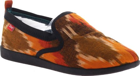 Dimmi Kvinners Presse Sneaker Svart / Orange