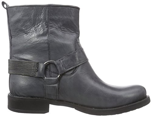 Inuovo Barrymore Kurzschaft Stiefel Grau (DARK GREY-NICKEL ACC)