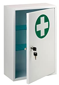 first aid cabinet st ambulance lockable aid cabinet co uk 15455