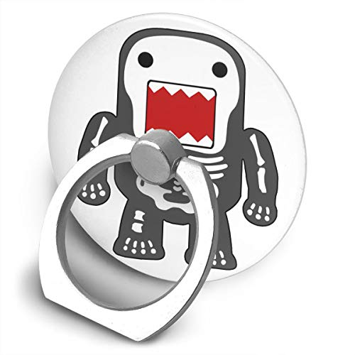- Happy Index Funny Cool Domo kun Skeleton 360° Rotation Cell Phone Ring Holder Cellphone Finger Stand for iPhone, IPad, Samsung Galaxy S9/S8 and More Smartphones