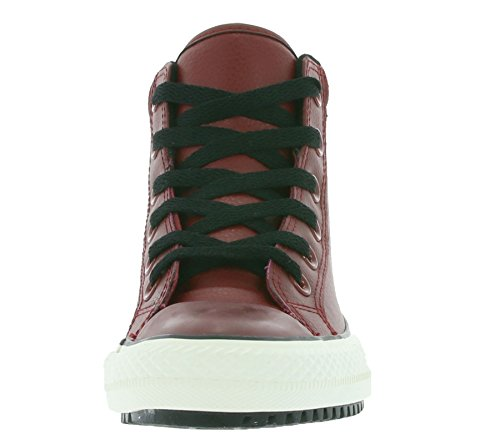 Converse-baskets converse cT all stars hi 146632 cuir chaussures blanc Red Block Black Egret