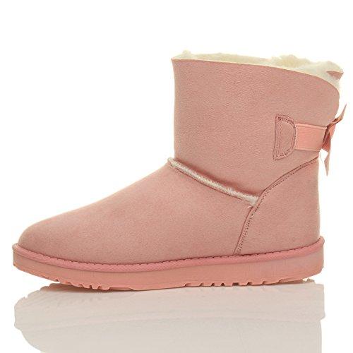 Ajvani - Botas para mujer Rosa - rosa pastel