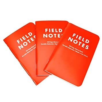 Amazon.Com : Field Notes Expedition 3Pk : Memo Paper Pads : Office
