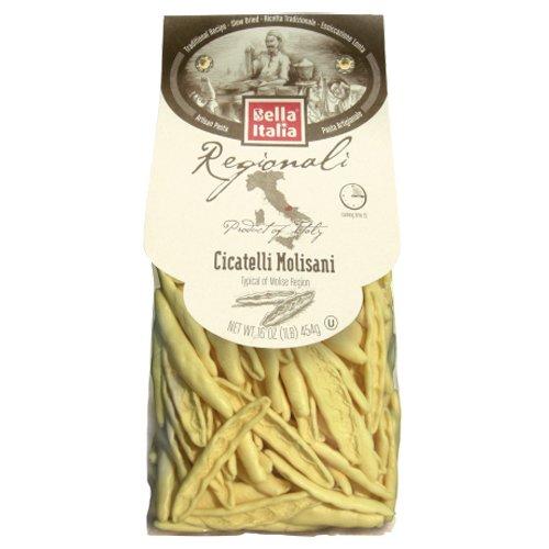 Bella Italia Cicatelli Molisani Dry Artisan Pasta - 16oz (2 Pack) Dry Italian Pasta