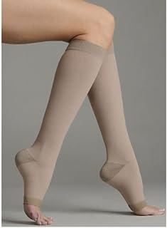 Juzo 2061ADSH II Soft Silver Open Toe Knee High Court 20-30 mmHg des bas de compression