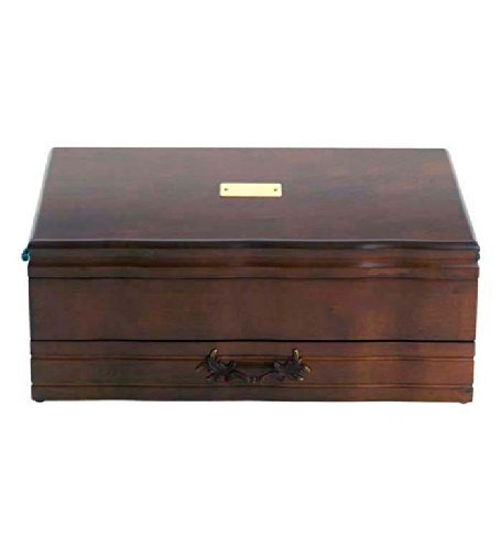 REED and BARTON FLATWARE CHESTS PROVINCIAL 1 DRAWER-MAHOGANY by Reed & Barton