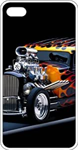 meilz aiaiFlaming Hot Rod Clear Rubber Case for Apple iPhone 4 or iPhone 4smeilz aiai