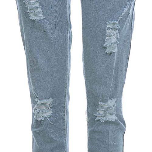 Nn Incollati Pantaloni Uomo m Strappati Blu Ragazzo Slim Scuro Elasticizzati Fit Spezzati Qk Jeans lannister Denim Lichtblau Da vqf8FSYF