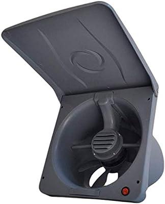 ZSQAW Extractor - Flip 10 Pulgadas Extintor Ventilador de ventilación de la Cocina Campana extractora Potente Ventilador silencioso: Amazon.es: Hogar