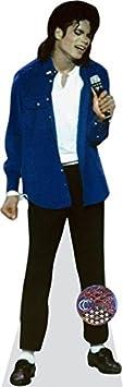 Michael Jackson (blue shirt) Grandeur Nature Celebrity Cutouts