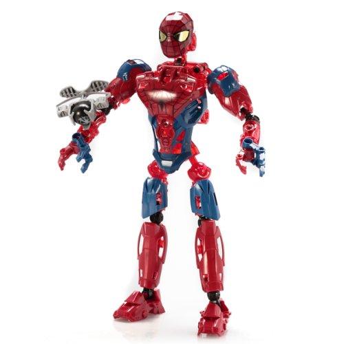Mega Bloks, The Amazing Spider-Man, Spider-Man Techbot (91331)