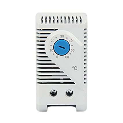 LANGIR 0-60 Degree Normally Open(NO) Mechanical Stego Cabinet Thermostat Temperature Controller Thermoregulator KTS011 - - Amazon.com