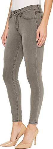 Agave Denim Women's Joan Fade Skinny Fit Jeans in Light Gray Light Gray 32