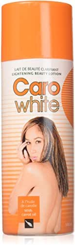 Caro White Lightening Beauty Lotion 500 Ml with Carrot Oil (Pack of 2 Pieces)