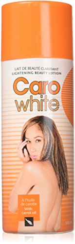 Caro White Lightening Beauty Lotion 500 Ml with Carrot Oil (Pack of 2 Pieces) White Lightening Body