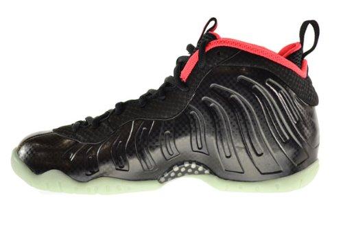 70eed1cfbabf6 Amazon.com  Nike Little Posite Pro Yeezy (GS) Big Kids Shoes Black Black- Laser Crimson 644792-001  Shoes