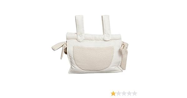 color beige Babyline Destellos Bolso panera para silla de paseo