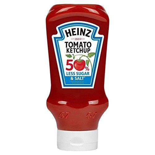Heinz - Tomato Ketchup - 50 % Less Sugar & Salt - 435g