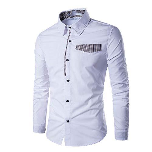 NOBRAND – Camisa de manga larga para hombre