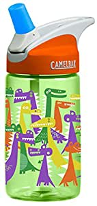 CAMELBAK Eddy Kids 0.4L Water Bottle (Dino Party)