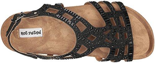 Gladiaattori Ei Luokitusta Naisten Bushiest Sandaali Musta CCSq0t