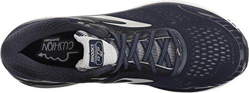 Brooks Men's Adrenaline GTS 18 Navy/Grey/Black 9.5 D US D (M) by Brooks (Image #1)