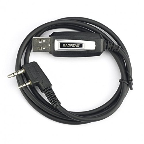 Baofeng Programming Cable for BAOFENG UV-5R/5RA/5R Plus/5RE, UV3R Plus, BF-888S