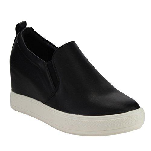 Hidden Wedge Heel Shoes