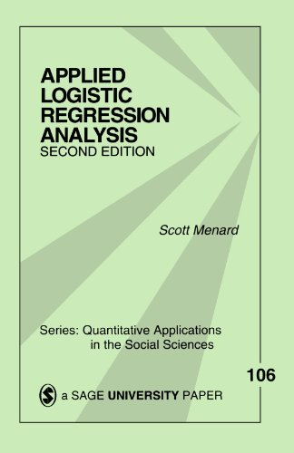 Applied Logistic Regression Analysis (Quantitative Applications in the Social Sciences) (v. 106)