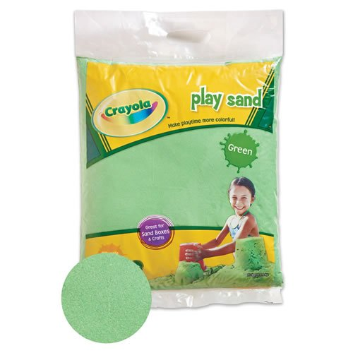 Crayola Colored Play Sand Green product image