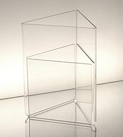 Dazzling Displays Acrylic 5 x 7 Three Sided Sign Holders