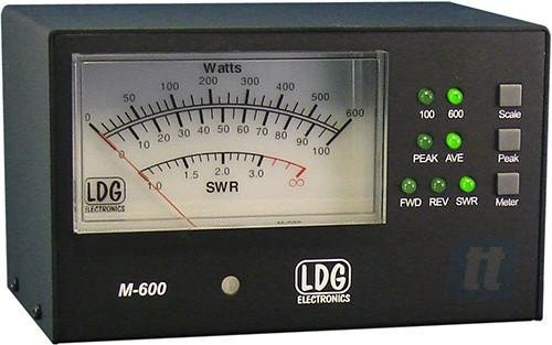 M-600 4.5'' Meter for AT-600ProII w/ 6' Cbl