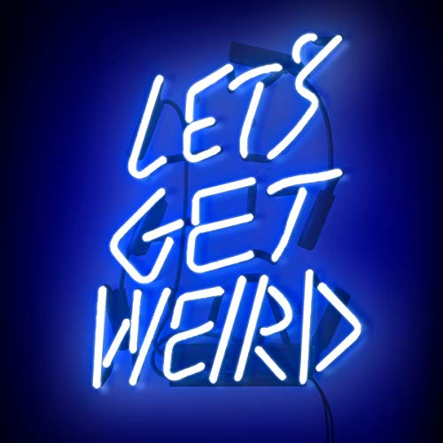 Neon Signs Let's Get Weird, Neon Light Sign Led Neon Sign Neon Wall Sign Neon Lamp Art Decorative Light Signs Neon Words for Home Bedroom Room Decor Beer Bar Halloween Party Wedding Holidays Decor]()