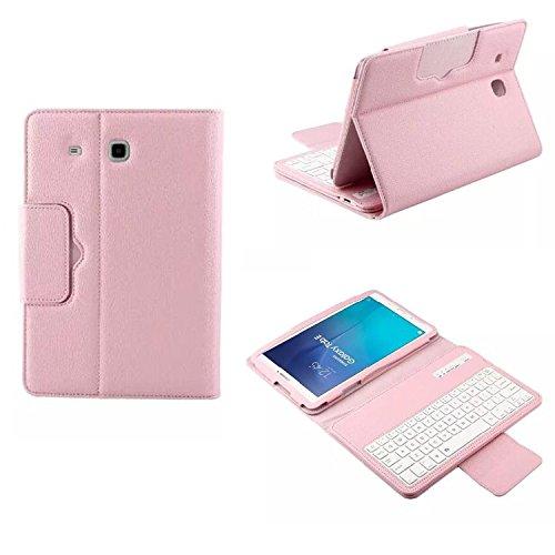 Samsung Galaxy Tab E T560 T561 9.6 Tablet Keyboard Leathe...