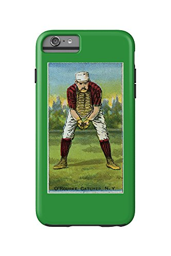 New York Giants - Jim O'Rourke - Baseball Card (iPhone 6 Plus Cell Phone Case Cell Phone Case, Tough)