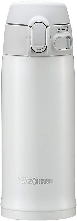 Zojirushi SM-TA36WA Stainless Steel Vacuum Insulated Mug, 12-Ounce, White