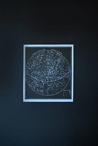 Constellation Poster Star Map Silk Screen