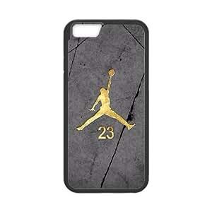 Jordan logo iPhone 6 Plus 5.5 Inch Cell Phone Case Black 8You325803