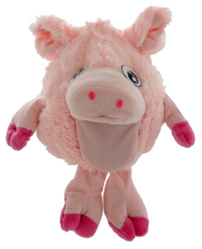 Shaggy Sidekicks Plush Stuffed Animal Toys - Plush Pig Hand Puppet - Oinks With Hand Movement - Sale On Now!