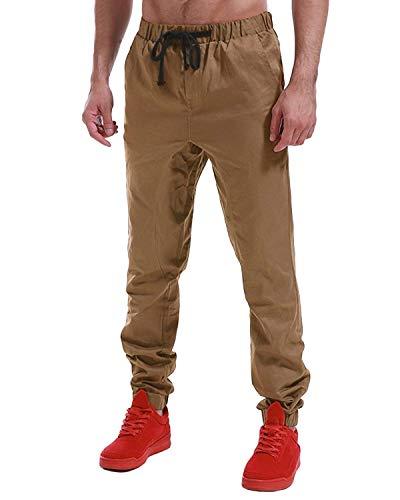 Chino Coulisse Uomo Elastica Cargo Con Jogging Armeegrün Da Jeans Pantaloni Ragazzo Qk Regolare Vita lannister Sportivi Vestibilità qfAqp