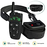 [NEW 2019] Dog Shock Training Collar with Remote | Long Range up to 1600 ft, Shock/Vibration Control, Rechargeable & IPX7 Waterproof | E-Collar Training for Small, Medium and Large Dogs, Breeds