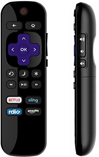 OEM Roku TV remote replacement with Power Volume Control, Standard IR ROKU Remote Compatible for RCA/PHILIPS/HITACHI/SHARP/HISENSE/LG/HAIER/ELEMENT ROKU TV [NOT FOR STAND-ALONE ROKU STREAMING PLAYER] by IKU (Image #4)