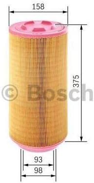 Bosch F026400252 Patrone Filter Von Luft Auto