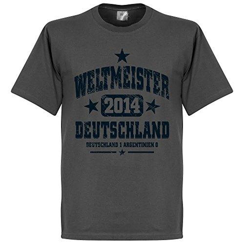Deutschland Weltmeister T-Shirt - grau